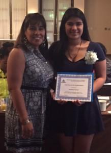 Andrea Palma 2015 NJAFPA Scholarship Winner