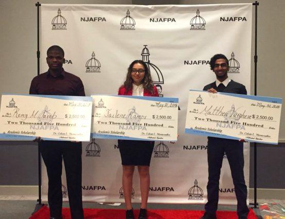 NJAFPA 2018 Student Scholarship Winners